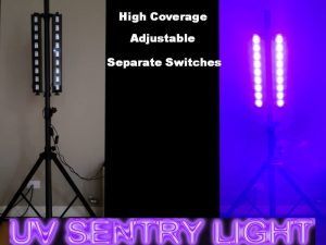 Sentry uv light hire Perth
