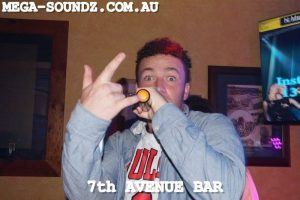 Karaoke singers Saturdays 7th Ave Bar Perth