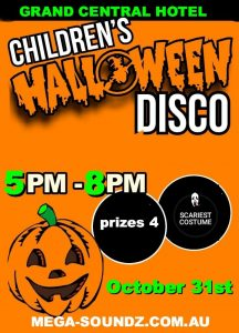 KIDS HALLOWEEN PARTY PERTH