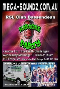 karaoke for those with challenges